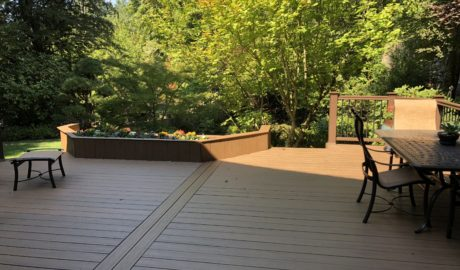 Timbertech Tropical Antique Palm decking