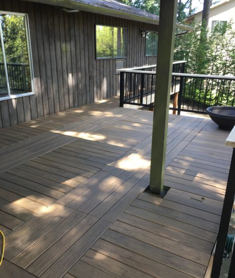 Timbertech Legacy Collection Tigerwood deck palettes